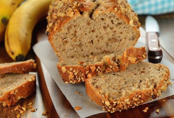 Fruity vegan banana bread recipe
