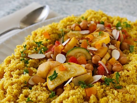 Seven veg couscous for VK