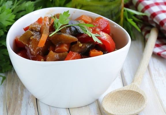Turkish eggplant stew