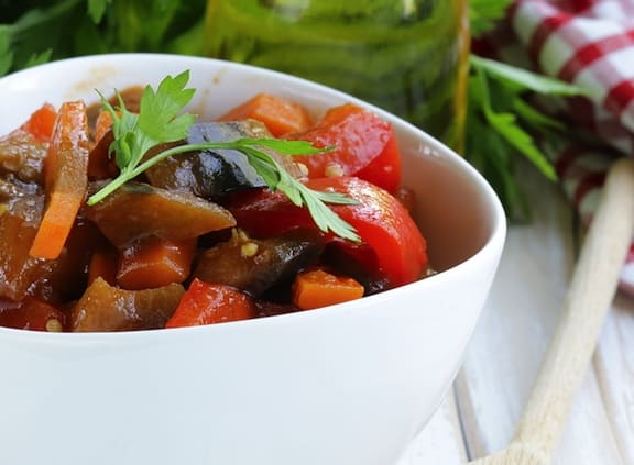 Turkish eggplant stew recips