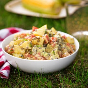 Potato and lentil salad recipe