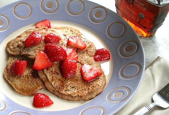 Strawberry Pancakes 5