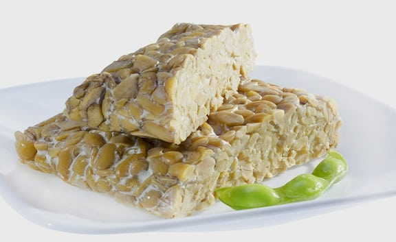 tempeh, uncooked