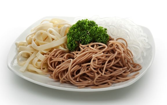 Asian noodle varieties