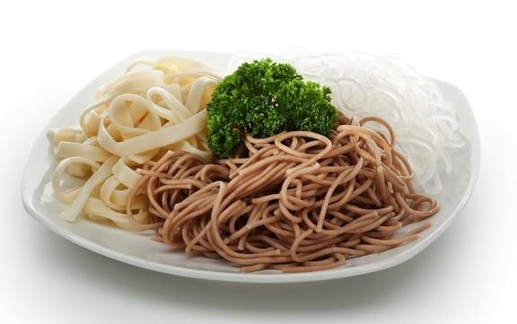 Asian noodle varieties