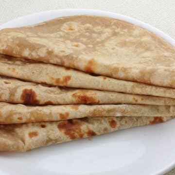 Homemade Chapatis recipe