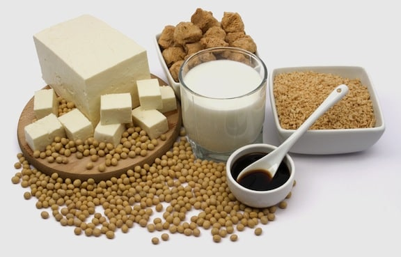 Soy products - tofu, soy sauce, soy milk, tempeh, etc.