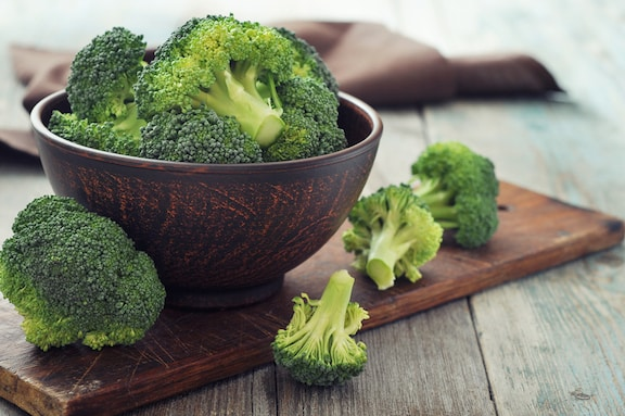 Fresh Broccoli in a bowl
