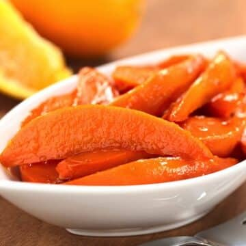 contemporary candied sweet potatoes