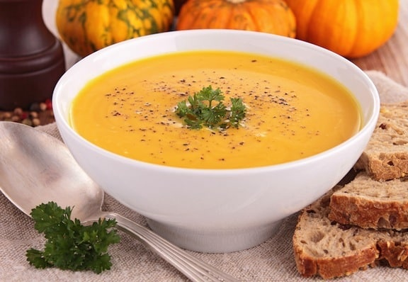 Squash and potato soup recipe