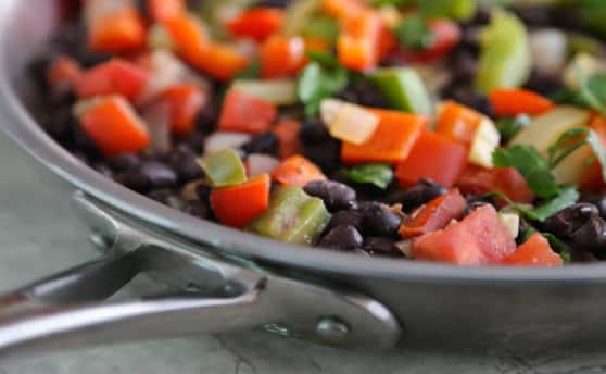 Black bean sofrito recipe