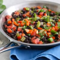 Black bean sofrito