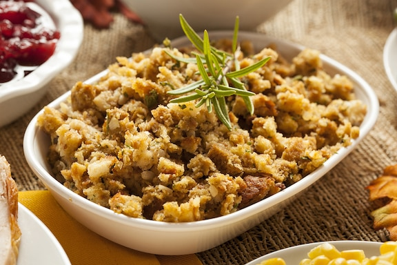Potato-bread stuffing