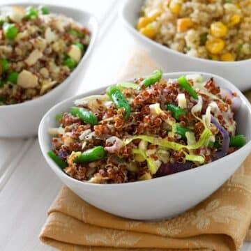 Quinoa pilaf varieties
