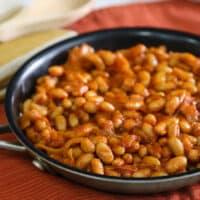 """Skillet """"Baked"""" Beans"""