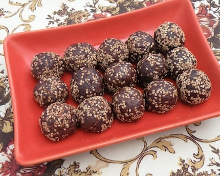 "Chocolate Peanut butter ""truffles"""