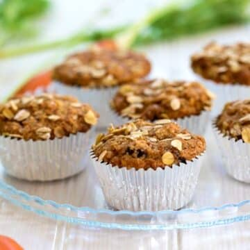 Vegan carrot muffins - recipe