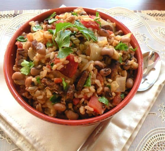 Vegan Hoppin' John recipe