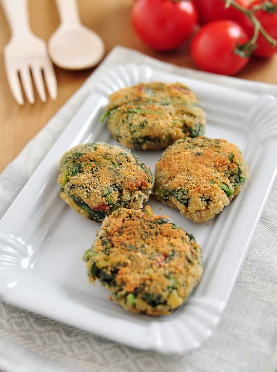 White bean and spinach burgers recipe