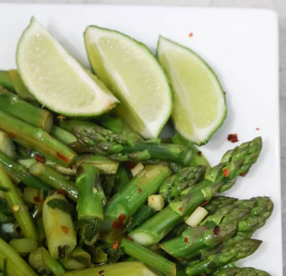 Thai Asparagus treat