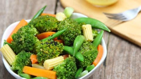Broccoli baby corn stir fry