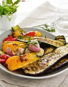 Grilled veggies melange