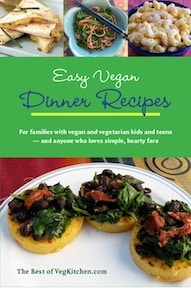 Easy Vegan Dinner Recipes ebook cover nava atlas