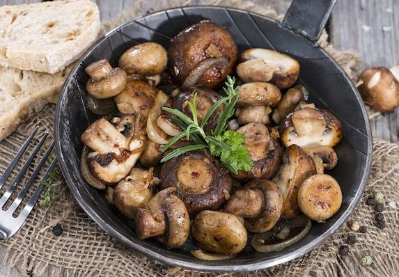 Teriyaki Mushrooms recipe