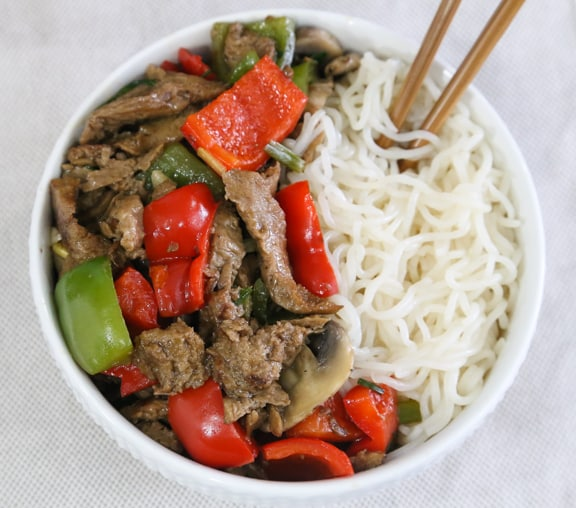 Seitan Peppersteak recipe