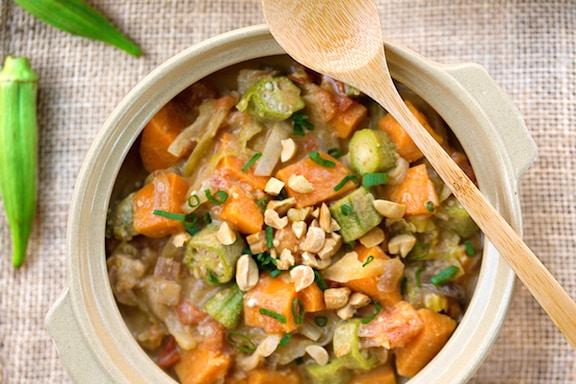 West african Peanut Okra Stew