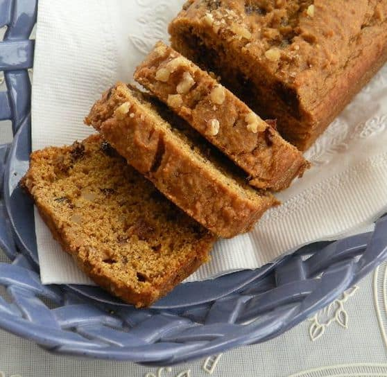 Vegan Pumpkin or squash mini-loaves