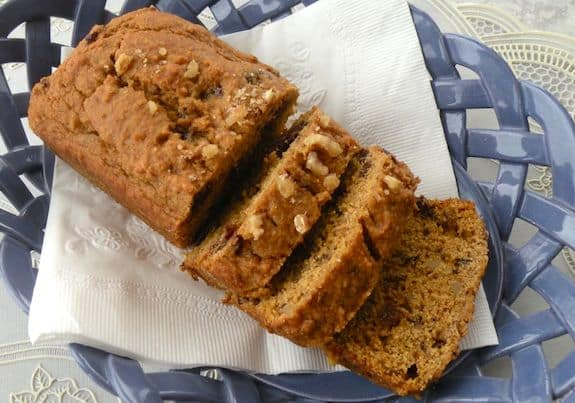 Pumpkin or squash mini-loaves recipe
