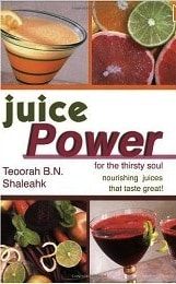 Juice power from your blender y Teoorah Shaleahk