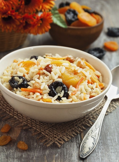 Fruited Brown Basmati Rice