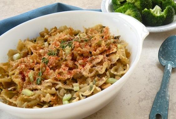 Tofuna noodle skillet or casserole