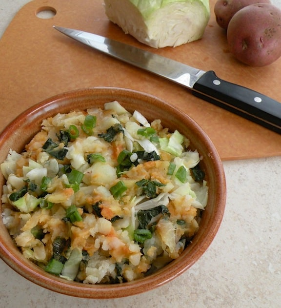 kale and cabbage colcannon recipe