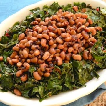 Black-eyed peas with greens2