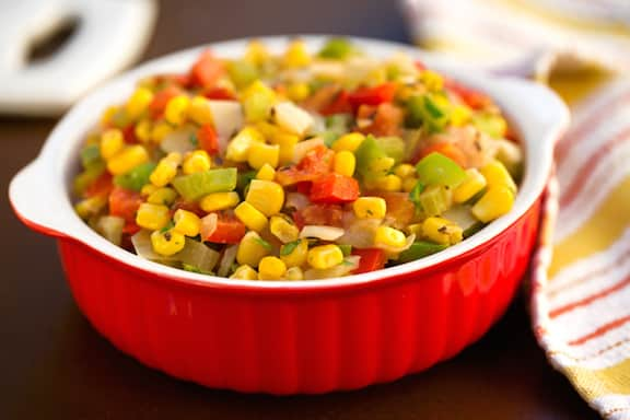 Creole Corn Maque Choux1