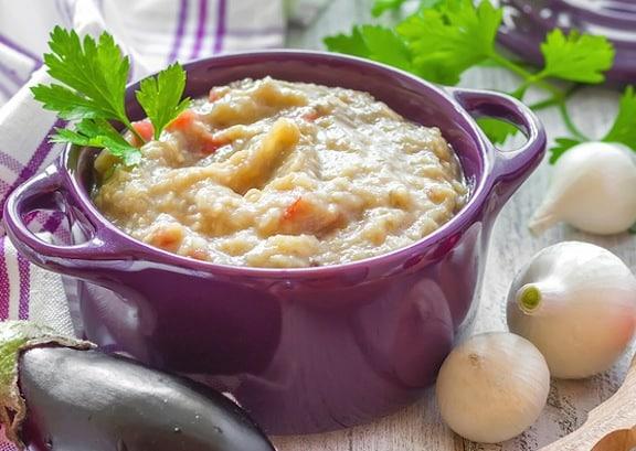 Receta de sopa criolla de berenjena