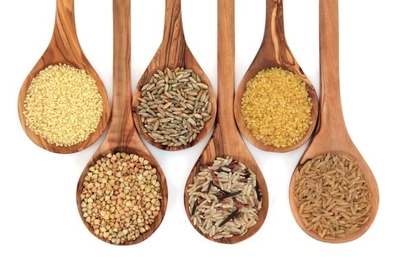 whole grain varieties