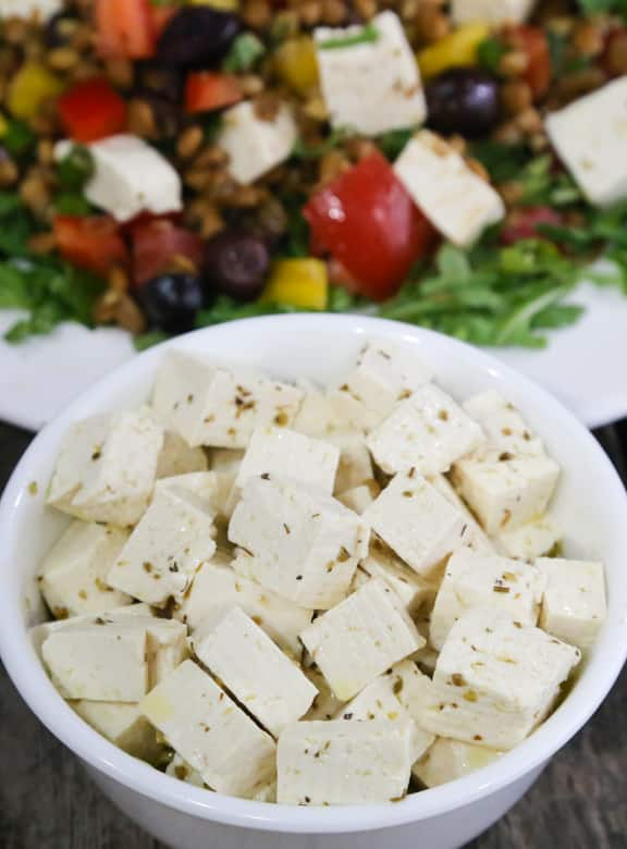 "Tofu ""Feta"" recipe"