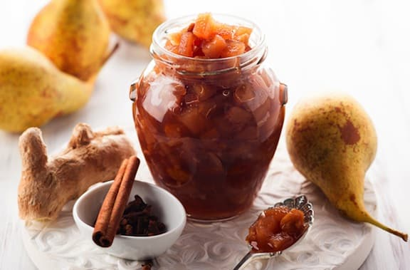 Pear chutney recipe