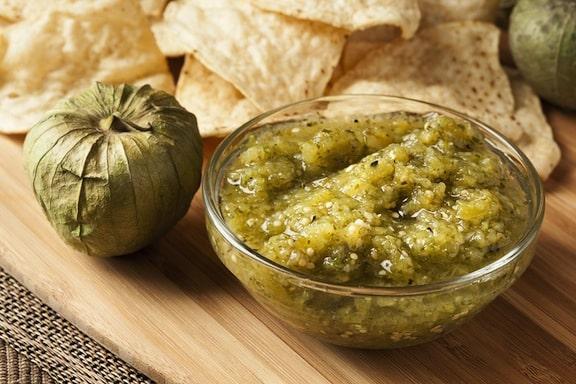 Salsa Verde (tomatillo salsa)
