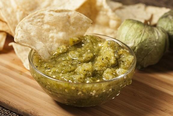 Salsa Verde (tomatillo salsa) recipe