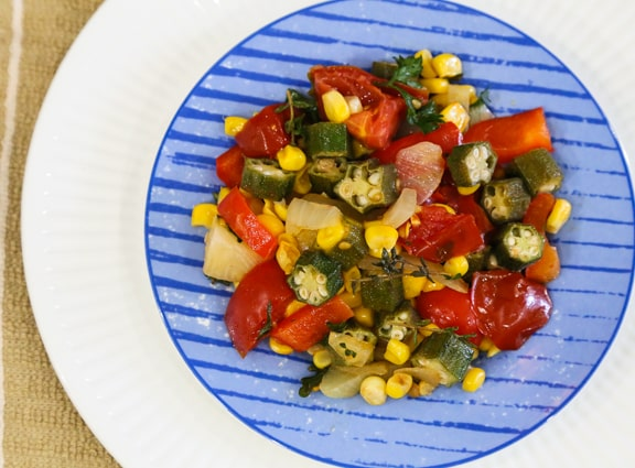 Southern-Style Succotash recipe