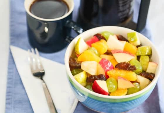 Cool-Season Fruit bowl