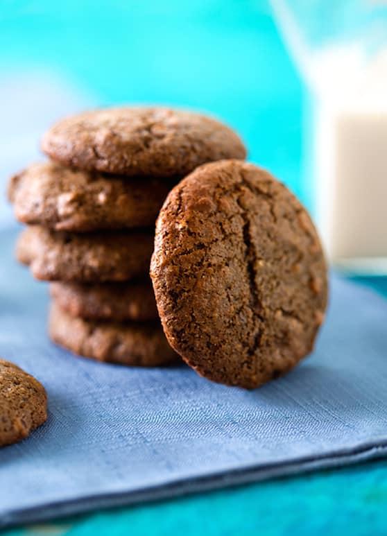Vegan brownie bites cookies by Beverly Bennett