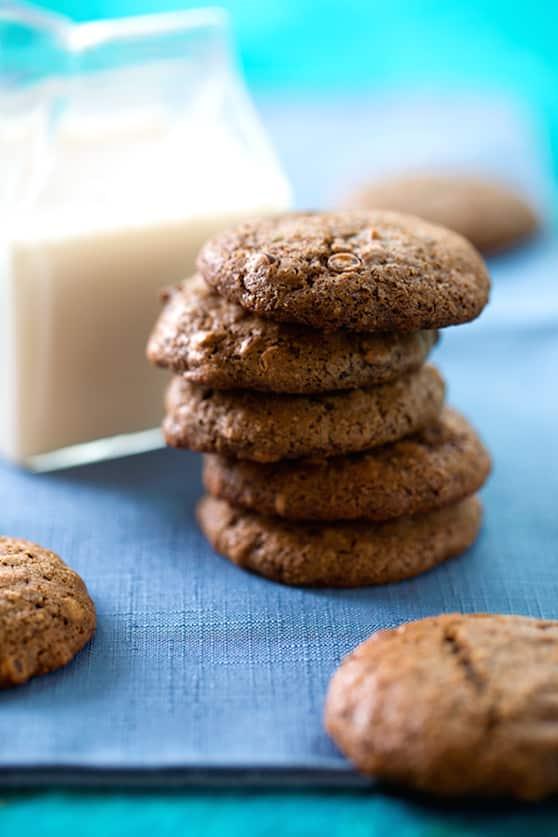 Vegan brownie bites cookies recipe