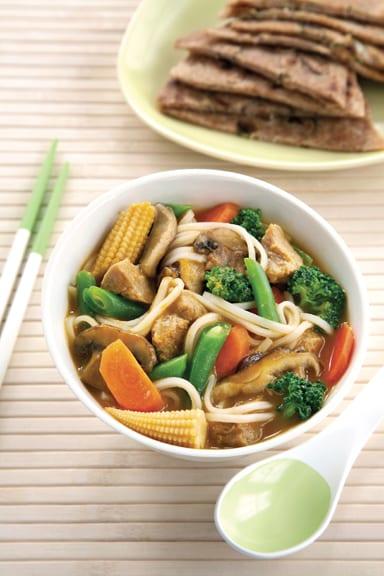 Buddhist's delight stew