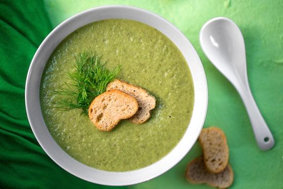 Vegan creamed fennel soup recipe